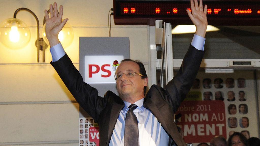Hollande, vencedor oficial de las primarias socialistas