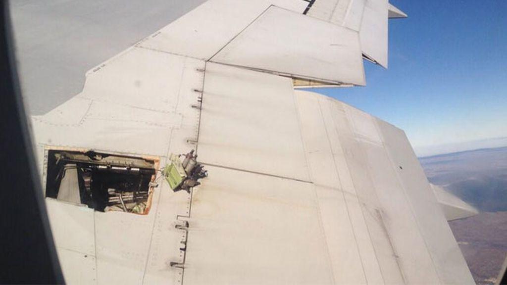 Un avión aterriza de emergencia en Barajas por un fallo hidráulico