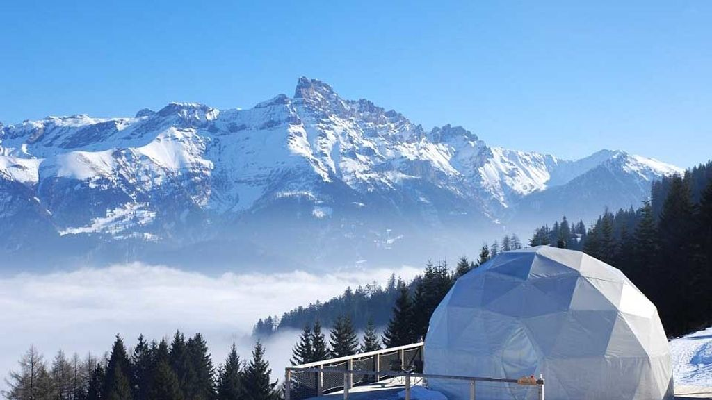 Whitepod Resort, Suiza