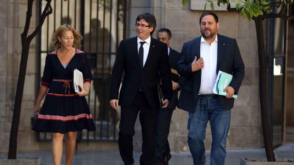 """El Govern sobre el 'no' de la CUP a las cuentas: """"La legislatura queda tocada"""""""