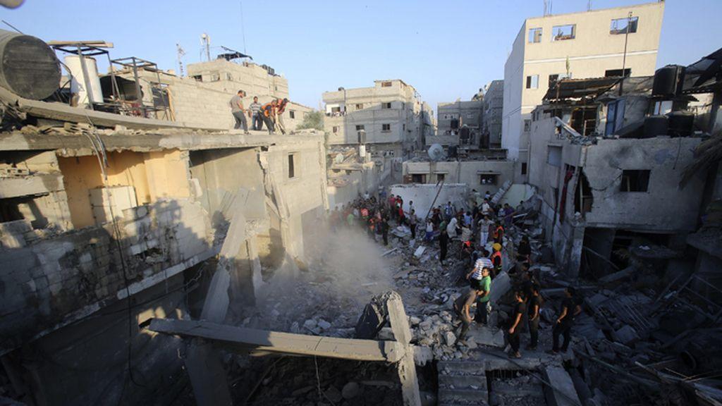 Continúan los ataques israelíes sobre las Franja de Gaza