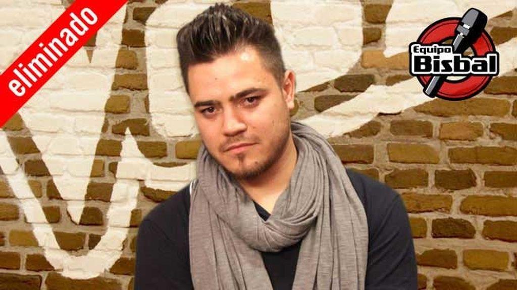 Darío Benítez, 29 años, equipo Bisbal I ELIMINADO