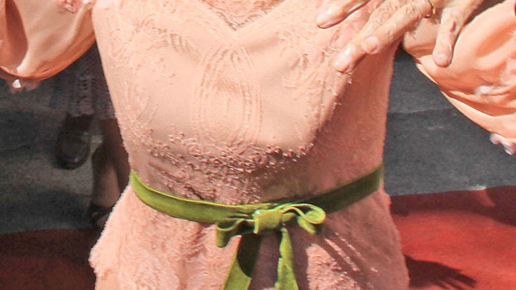 El look de novia de Cayetana, al detalle