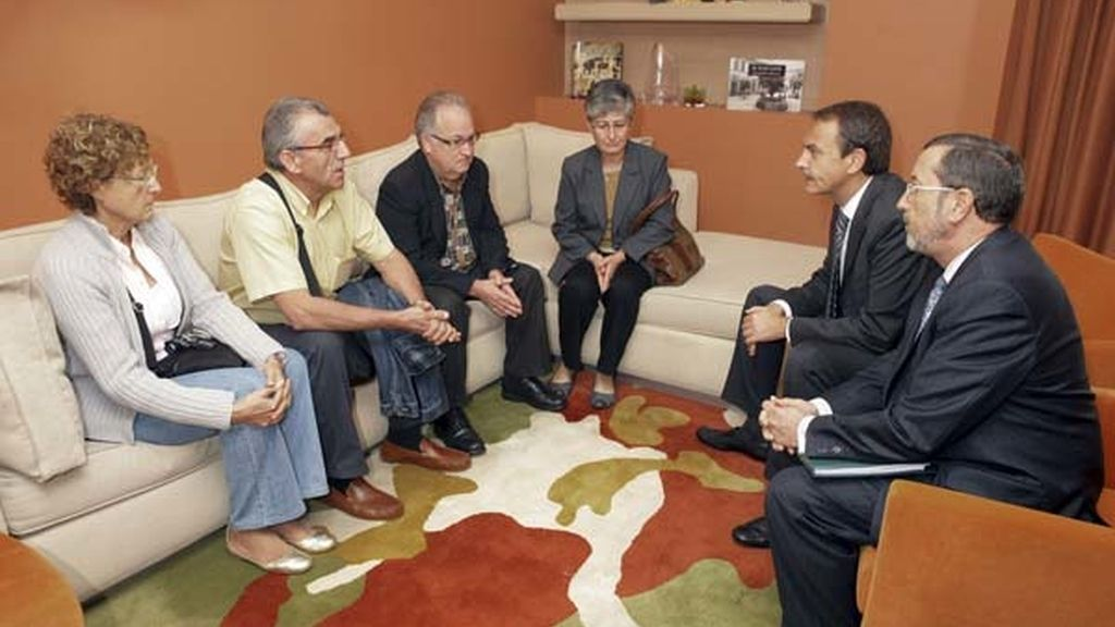 Zapatero en Egipto