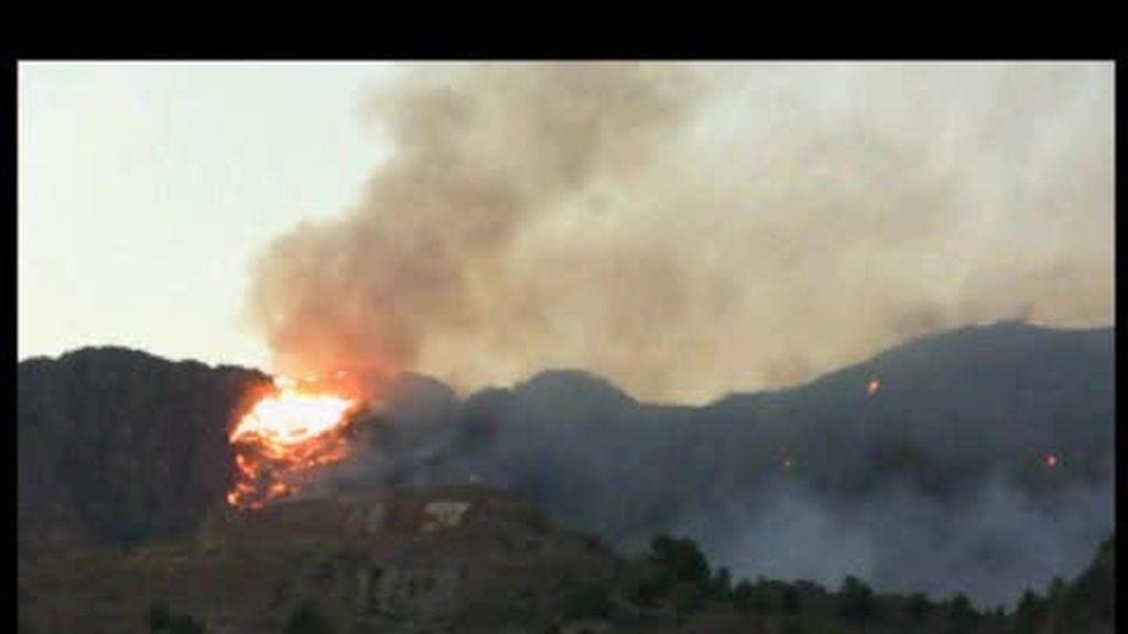 El incendio de Murcia intencionado