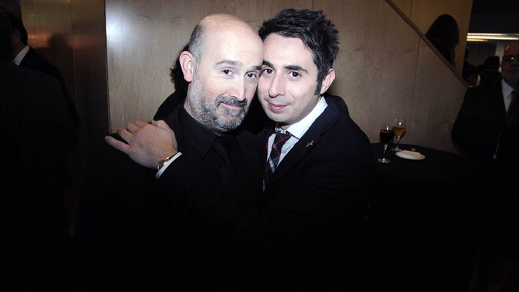 Javier Cámara y Berto Romero, ambos nominados en esta 28 edición de los Goya