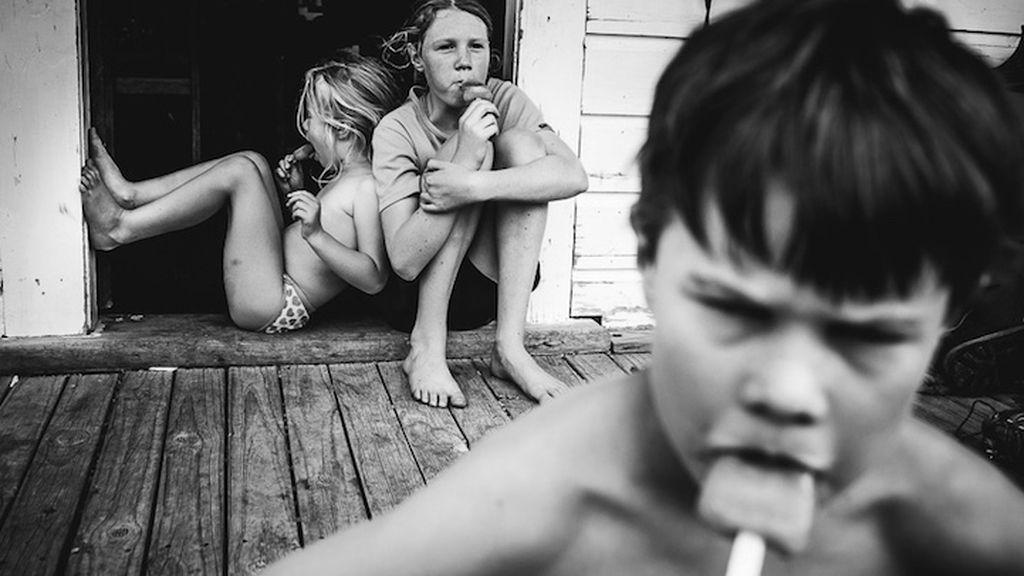La fotógrafa Niki Boon inmortaliza la infancia de sus hijos