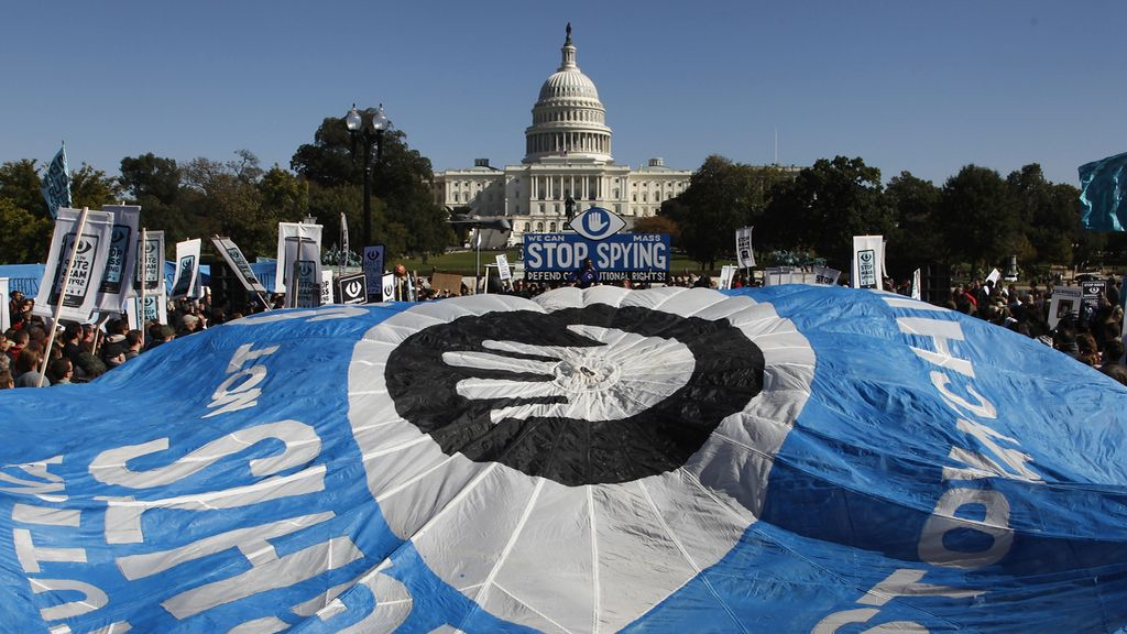Manifestación en Washington