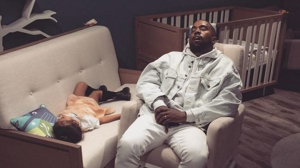 La siesta más VIP de Kanye y South West