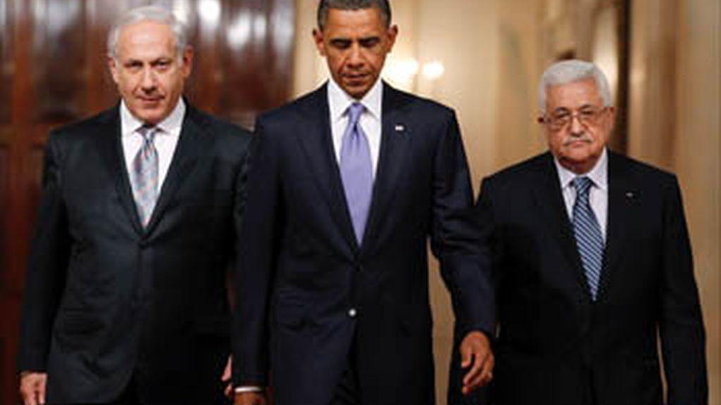 Netanhayu y Abbas encaran su primera reunión en 20 meses con voluntad de alcanzar la paz