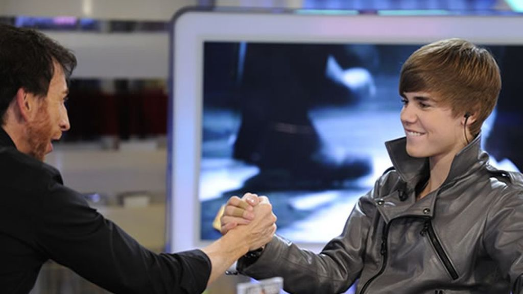 ¡Give me five, Justin!