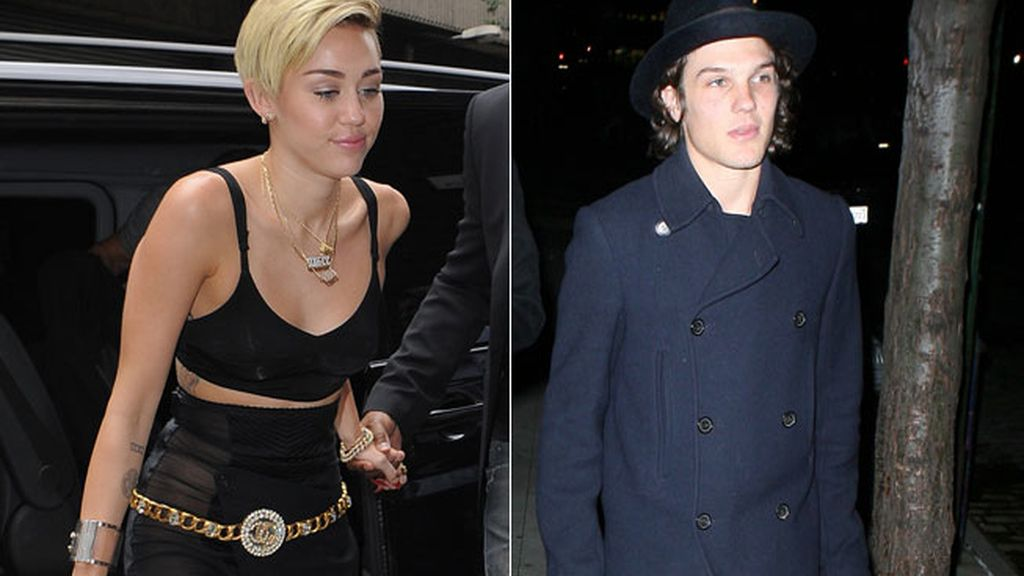 Miley Cyrus y Theo Wenner