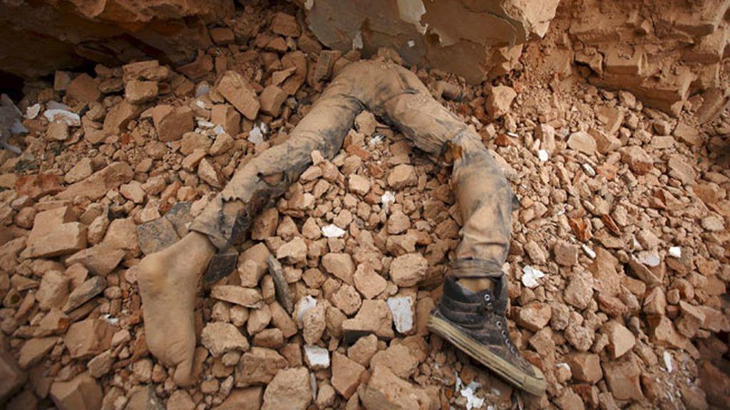 Miles de muertos en el terremoto en Nepal