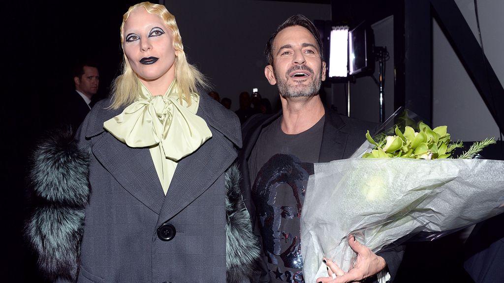 Lady Gaga desfila para Marc Jacobs en el cierre de la NYFW