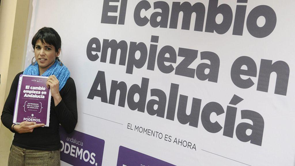 Podemos propone en Andalucía garantizar luz, agua, gas y suspensión temporal de desahucios