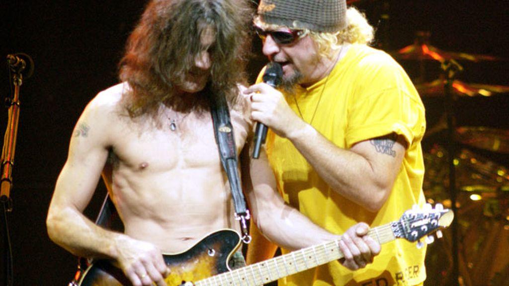 8. La banda de 'Hard Rock' Van Halen se hizo con 54 millones en 46 conciertos