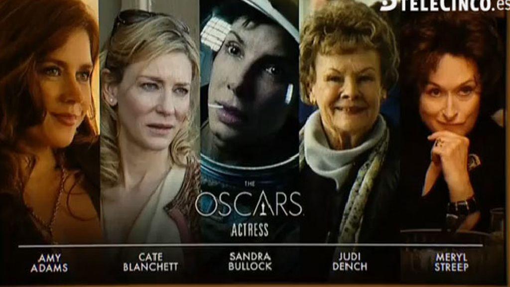 Nominadas a Mejor Actriz