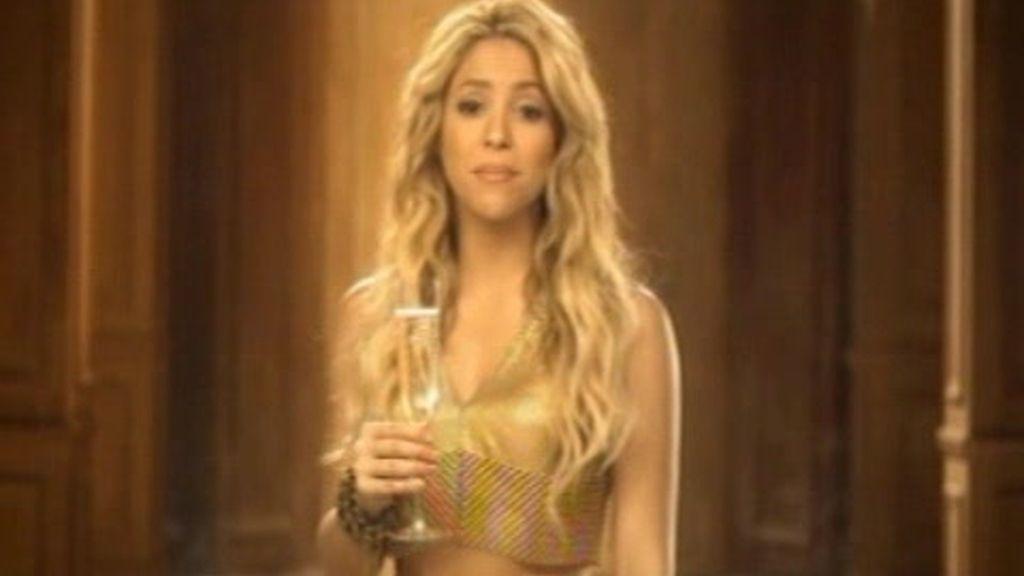Shakira se convierte en burbuja