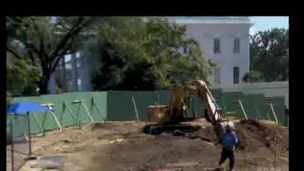 Las obras de la Casa Blanca