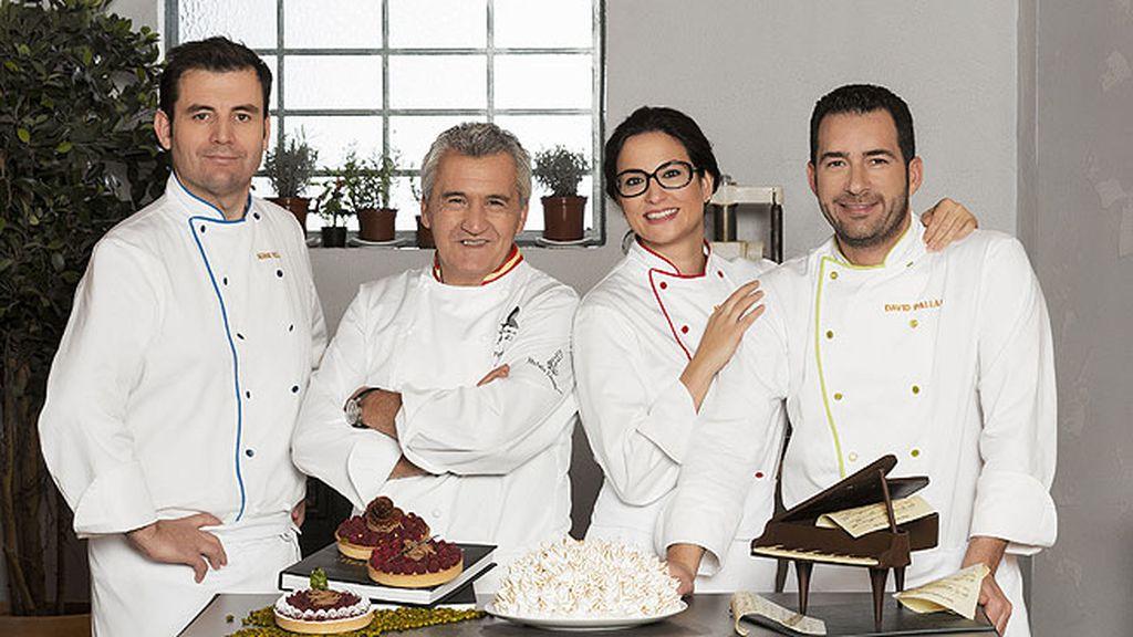 Paco Torreblanca, Raquel Sánchez Silva y los mentores del programa, preparados