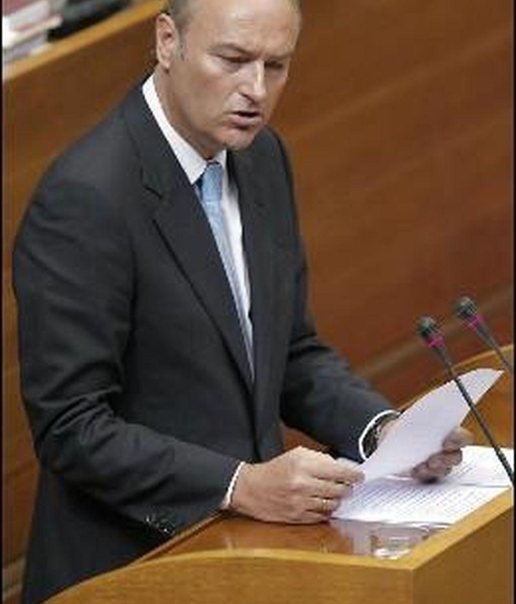 El Presidente de la Comunidad Valencia, Alberto Fabra