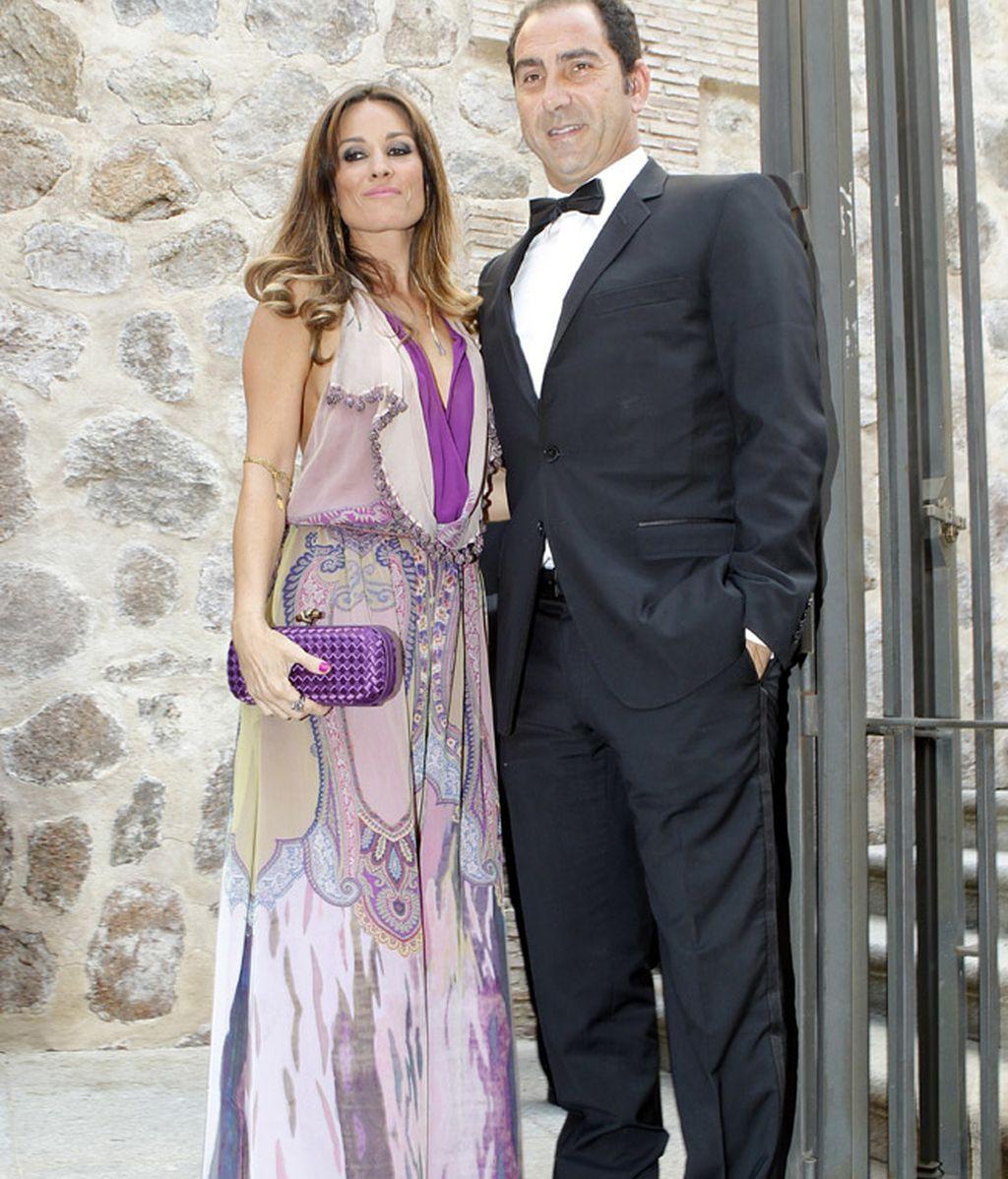 El tenista Albert Costa y su mujer, Cristina Ventura