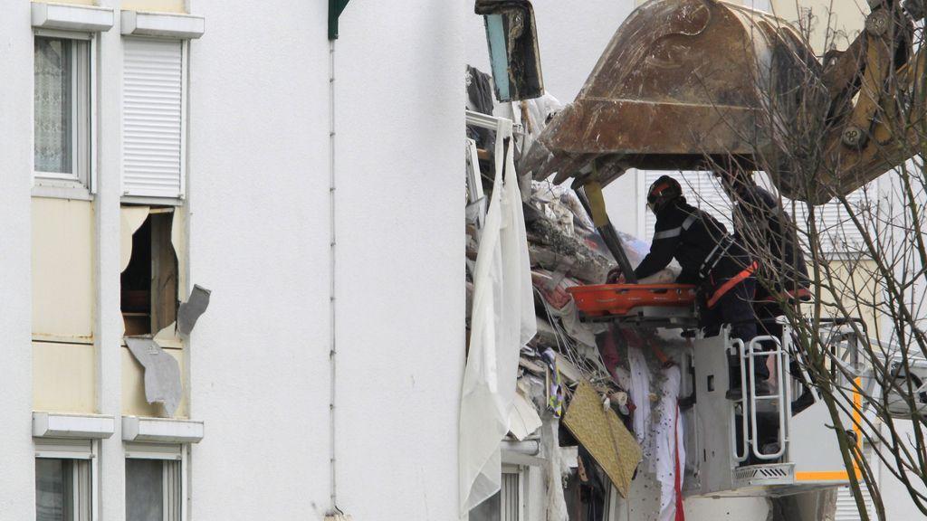 Se derrumba un edificio en Francia