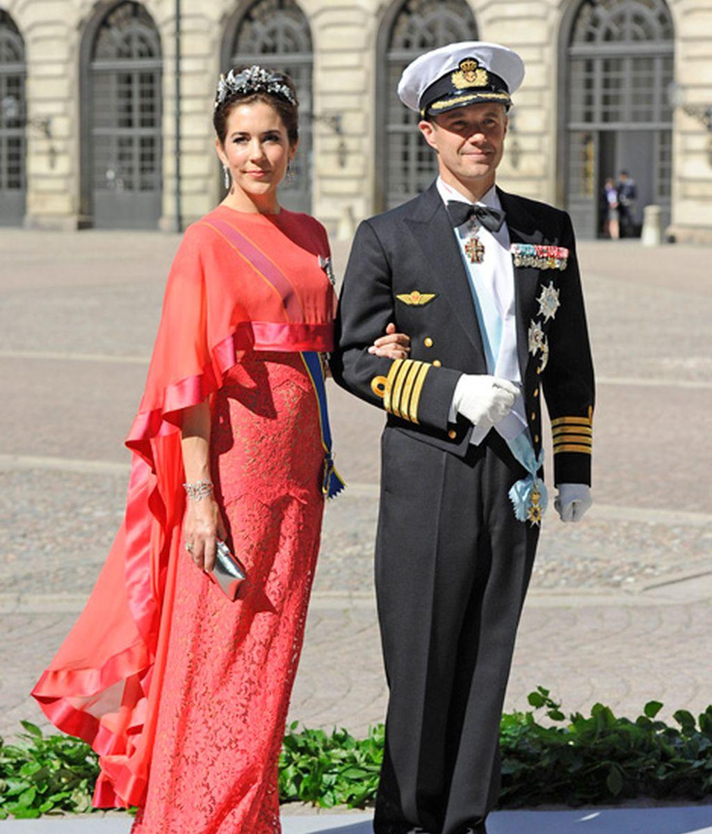 Federico de Dinamarca y su esposa Mary Donaldson