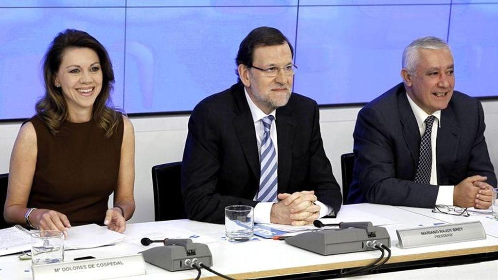 Mariano Rajoy en la Junta Directiva Nacional del PP