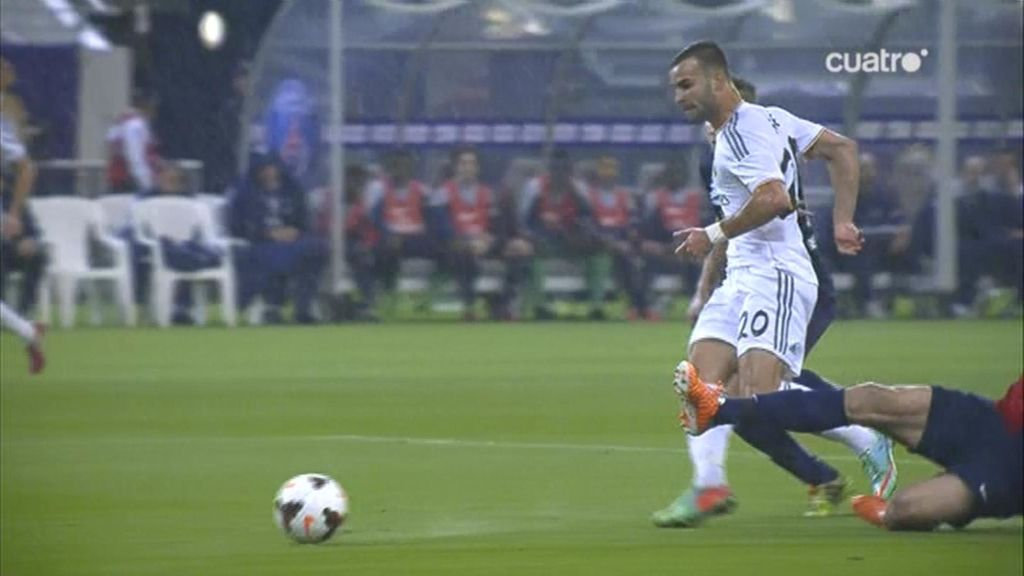 Jesé marcó el único gol del partido