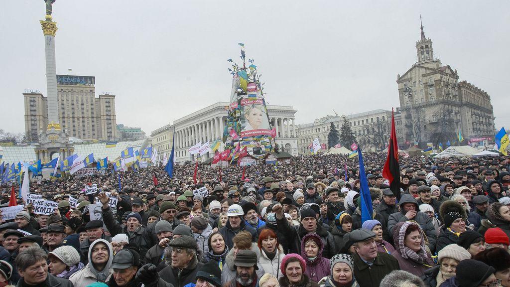 Un partido ultraderechista vuelve a ocupar  la sede del ayuntamiento de Kiev