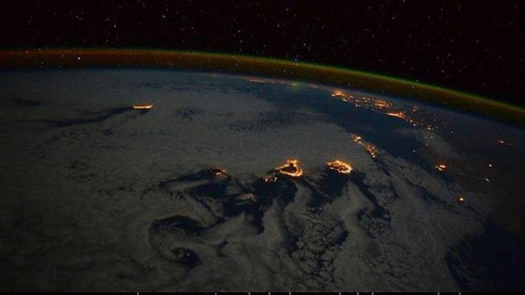 Una astronauta italiana fotografía Canarias desde la Estación Espacial