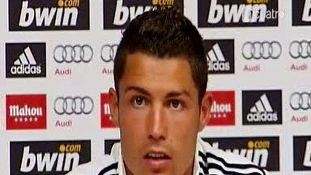 Cristiano Ronaldo tiene hambre de títulos