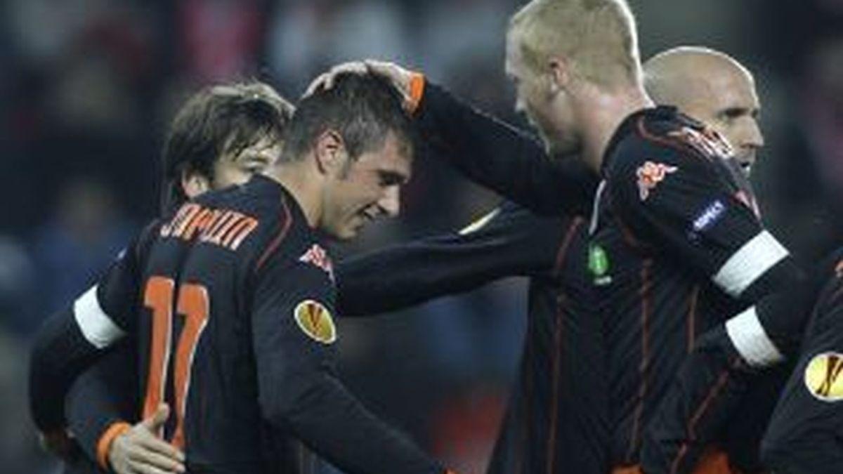 El Valencia se deja empatar un partido que tenía ganado. Vídeo: Informativos Telecinco.