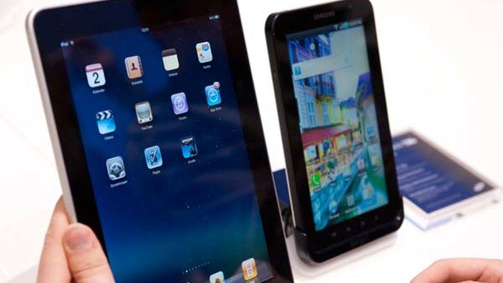 Comparación con el iPad