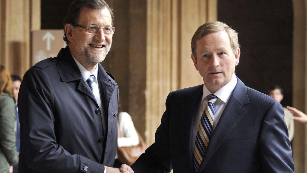 Rajoy y Kenny