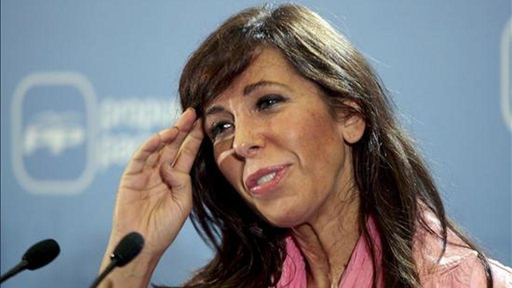 Alicia Sánchez-Camacho, presidenta del PP de Cataluña. EFE/Archivo