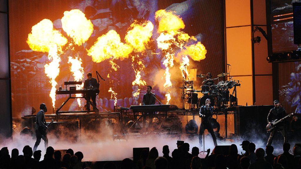 Linkin Park iluminó el teatro Nokia de Los Ángeles