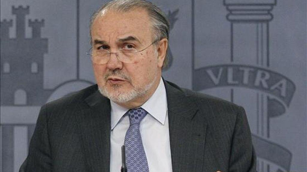 El vicepresidente segundo y ministro de Economía, Pedro Solbes. EFE/Archivo