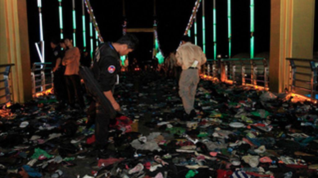 Al menos 287 fallecidos en la estampida de un festival acuático en Camboya