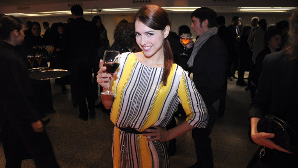 Cristina Brondo con vestido de Antik Batik