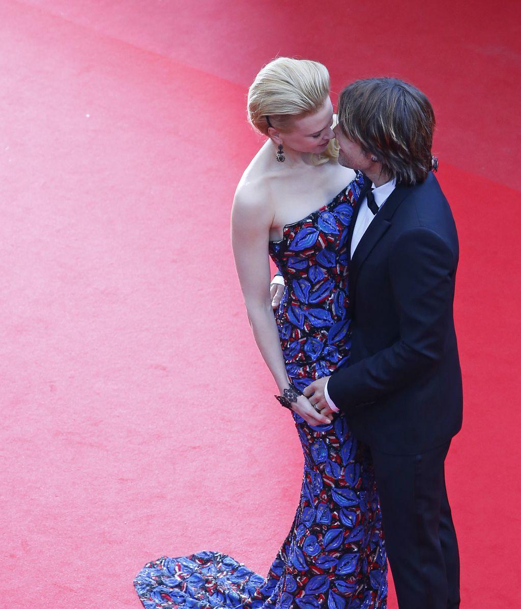 La actriz Nicole Kidman y su marido Keith Urban