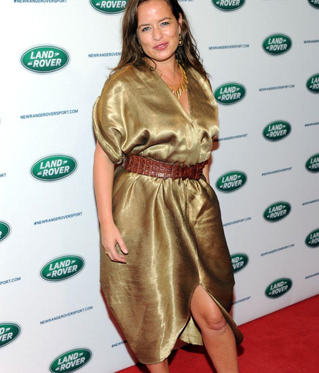 Jade Jagger, cuando el oro 'rocks'