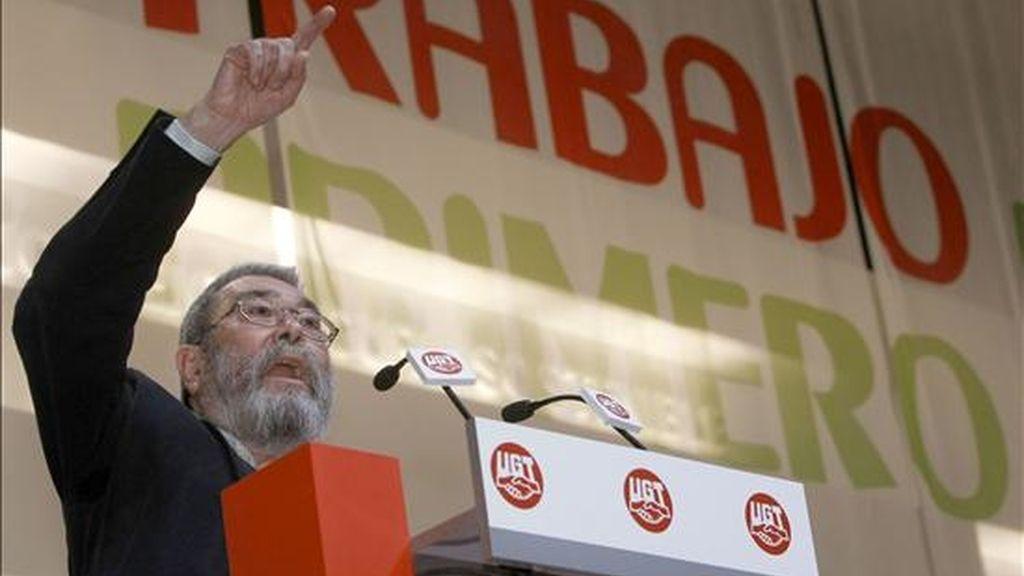 Cándido Méndez comienza su quinto mandato al frente de un sindicato que dirige desde 1994. Vídeo: Atlas.