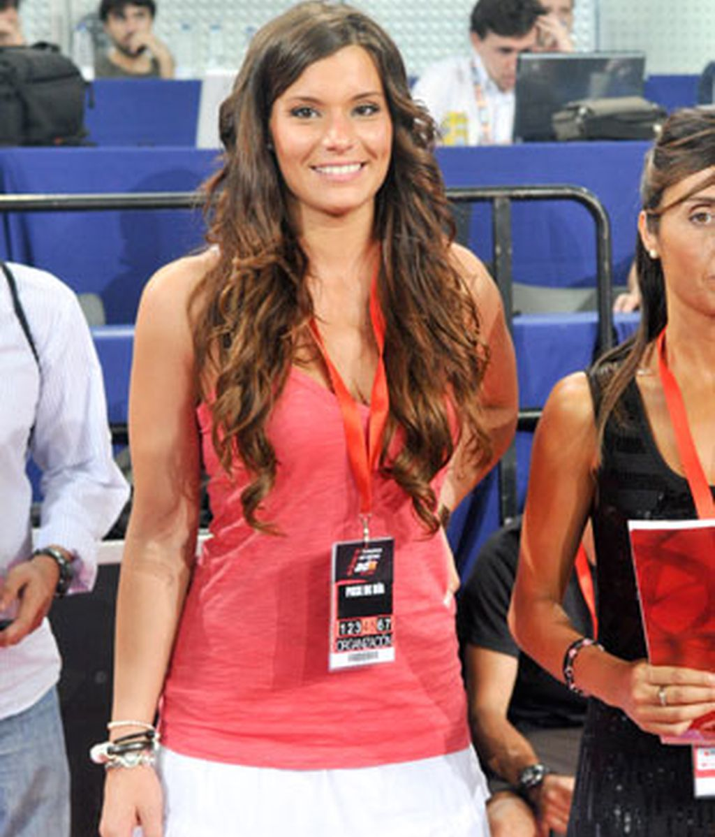 Silvia, la novia 'cheerleader' de Gasol