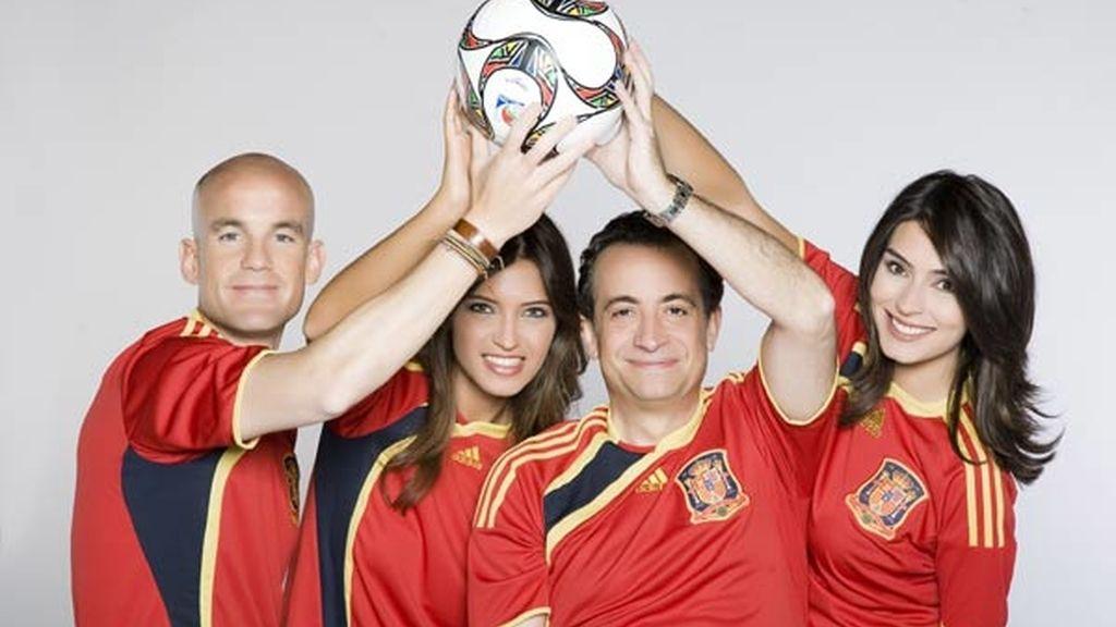El equipo de la Copa Confederaciones