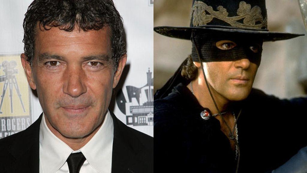 """Antonio Banderas en """"El zorro"""""""