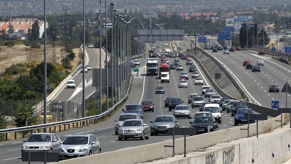 Tráfico en las carreteras españolas. Foto: Efe
