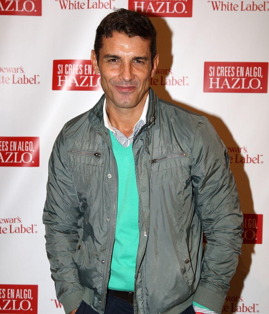 Jesús Vázquez, presentador de 'La Voz', acompañó al almeriense