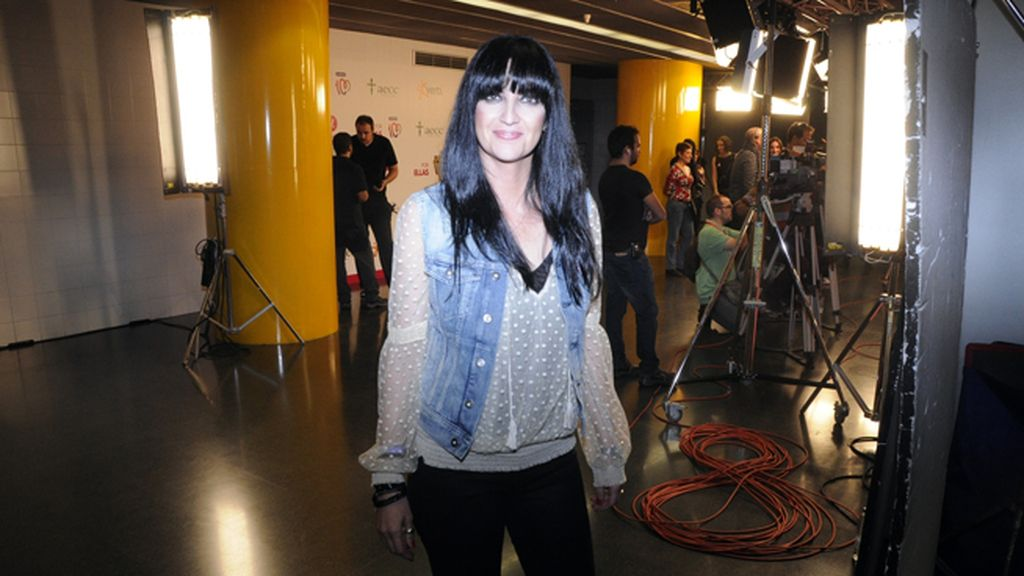 "Susana Alva, vocalista del grupo ""Efecto Mariposa"""